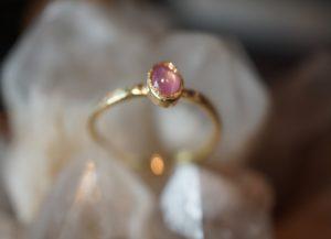 Ring met edelsteen 1