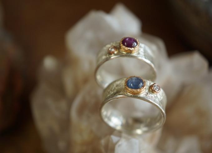 Ringen zilver en goud 1