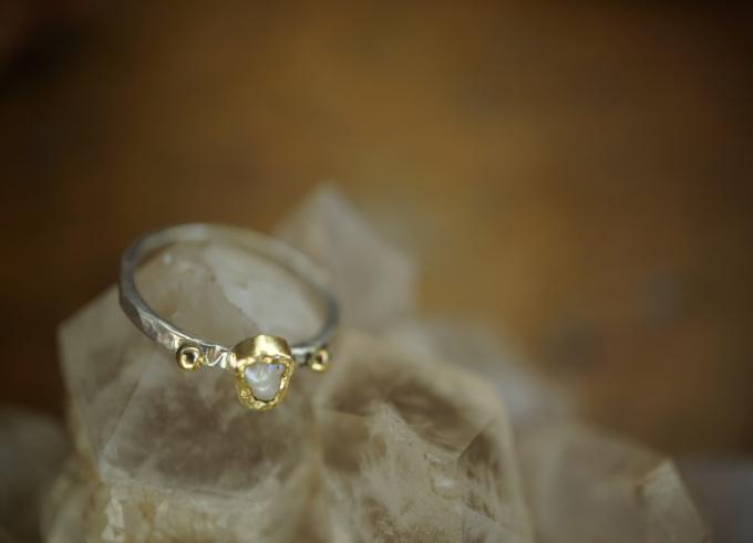 Ringen zilver en goud 12
