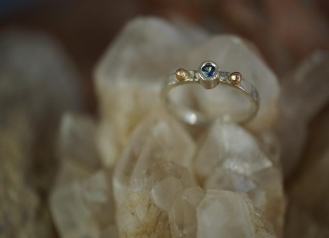 Ringen zilver en goud 9